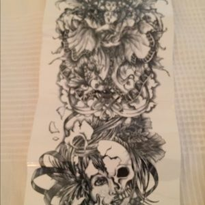 Other - Full Sleeve Temporary Tattoos, lot of 4 designs!